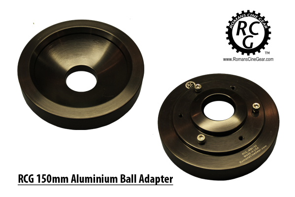 150mm Aluminum Ball Adapter