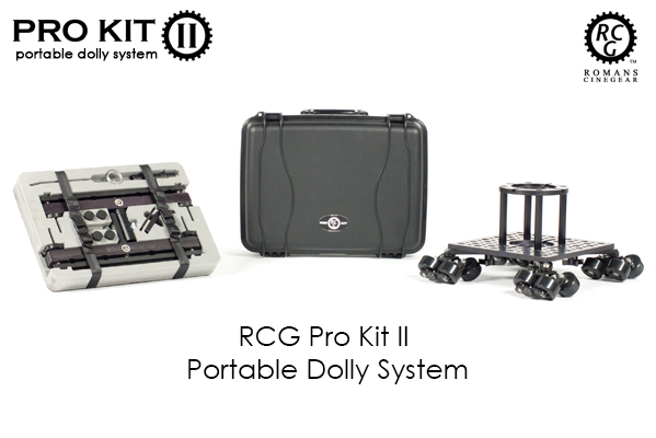 RCG Pro Kit II ELITE - Portable Dolly System