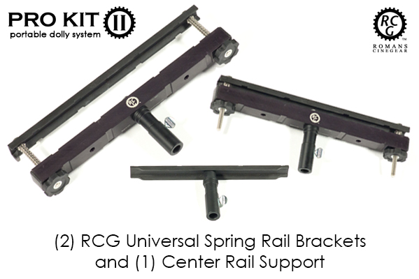 RCG Pro Kit II ELITE - Portable Dolly System - Click Image to Close
