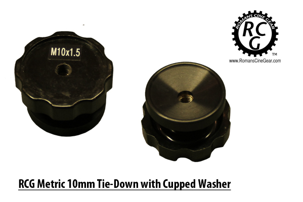 10mm 1.5 Metric Low Profile Tie Down with Cupped Washer