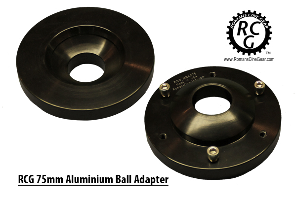 75mm Aluminium Ball Adapter