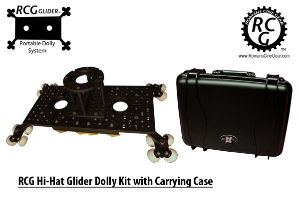 RCG Hi-Hat Glider Dolly with Case
