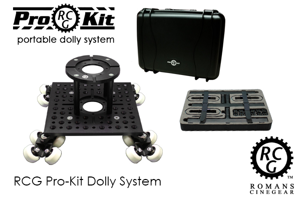 RCG Pro Kit BASIC - Portable Dolly System